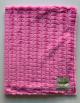 Luxe Stripe Hot Pink Baby Receiving Blanket
