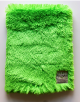 Super Luxe Lime Green Baby Receiving Blanket