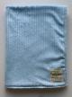 Minky Pine Stripe Blue Baby Receiving Blanket