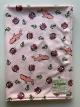 MInky Sharkies Pink Blue Baby Receiving Blanket