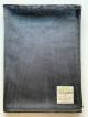 MInky Ultra Suede Black Baby Receiving Blanket