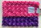 Luxe Snail Raspberry With Purple Security Baby Blanket 14