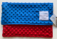 Minky Dot Red With Electric Blue Security 14