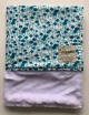 Organic Cotton Pick a Bunch Luxe White Baby Blanket