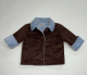 Baby Jacket Brown With Luxe Lining