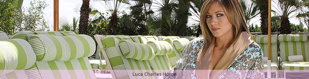 Luca Charles Home Bath Robes